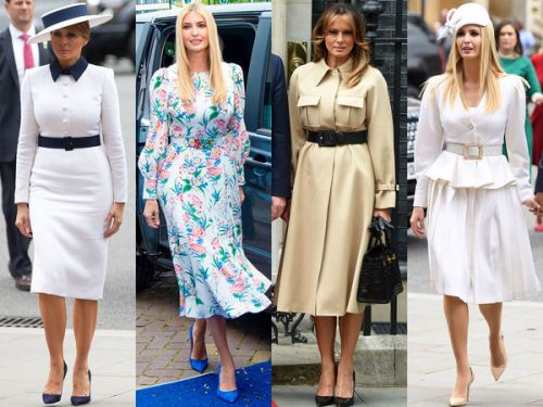 PHOTOS. Melania et Ivanka Trump en Europe : la battle de looks