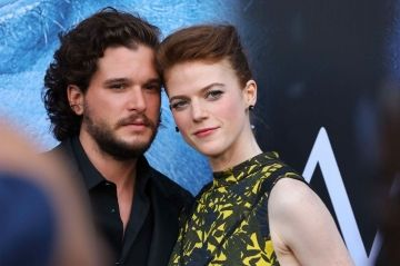"Kit Harington et Rose Leslie:  mariage glamour chez ""Game of Thrones"""