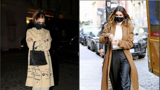 Bella Hadid, Kendall Jenner. Les stars en trench d'automne