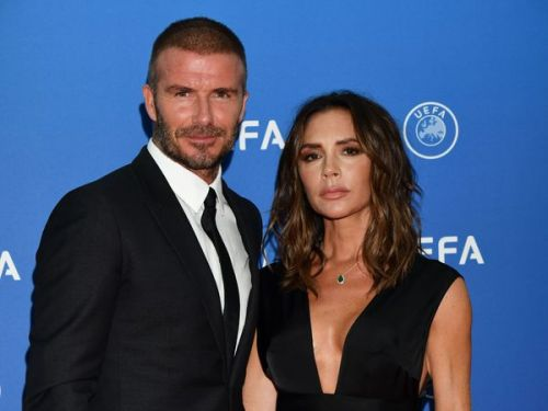 PHOTOS. David et Victoria Beckham, très élégants sur le red carpet