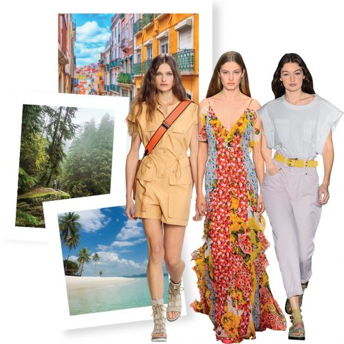 Vacances: 3 destinations, 3 looks