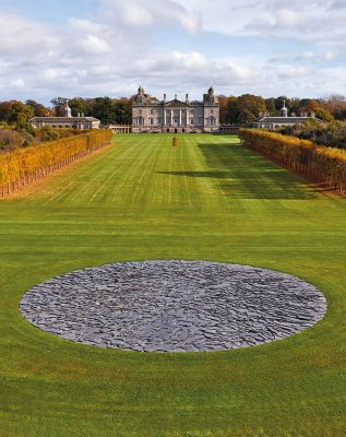 Richard Long Land Art in Houghton Hall Castle