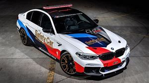 La BMW M5 officiera en Moto GP