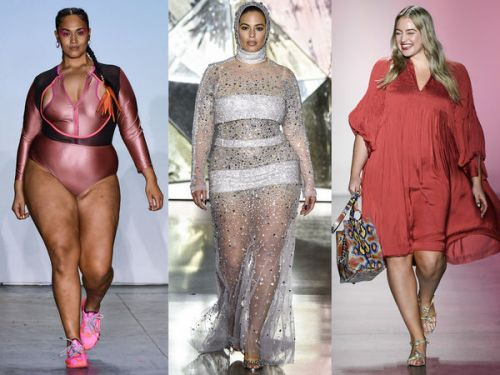 PHOTOS. La Fashion Week de New York met les mannequins grande taille à l'honneur