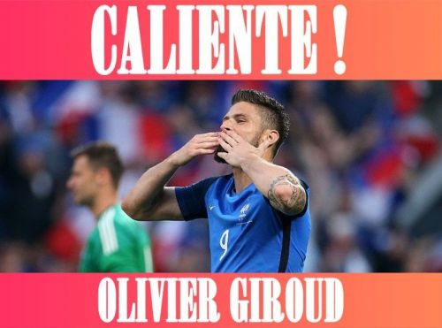CALIENTE:  Olivier Giroud, le sexy frenchy !