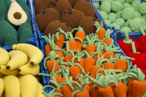 Fruit & Vegetables Made from Wool