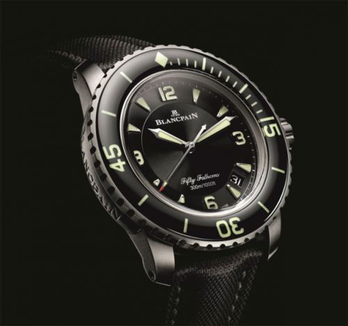 Blancpain Fifty Fathoms, une montre performante et élégante
