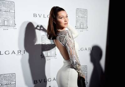 Bella Hadid, reine de beauté à New York