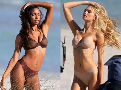 PHOTOS. Chaud devant ! Le shooting très sexy des anges de Victoria's Secret