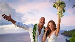 Dwayne Johnson s'est marié EN SECRET à Hawaï