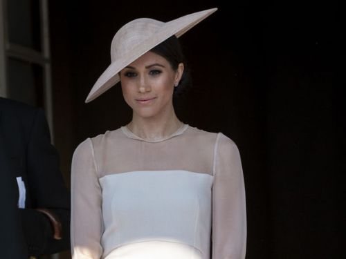 PHOTOS. Meghan Markle:  son total look de duchesse décrypté