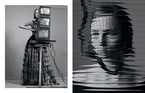 Fran Summers Gets Surreal for Interview Mag