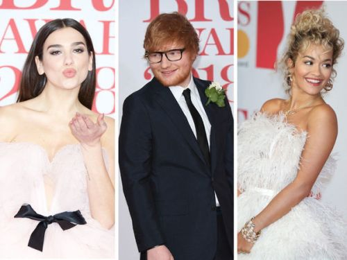 PHOTOS. Brit Awards:  les plus beaux looks du tapis rouge