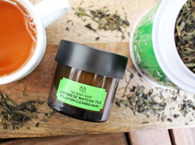 Beauty it:  Le masque anti-pollution au thé matcha de The Body Shop