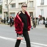 Street-style Paris Fashion Week
