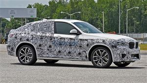 Scoop: le BMW X4 décliné en M