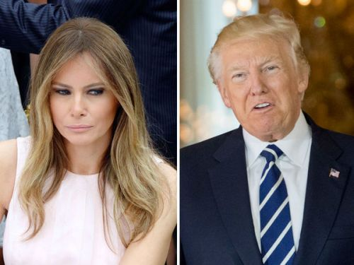 Devinez qui a balancé les photos de Melania Trump nue au New York Post. Donald Trump !