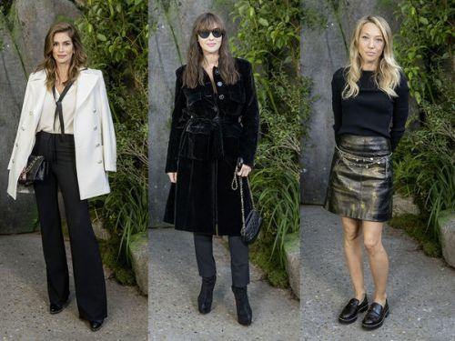 Fashion Week de Paris:  Laura Smet, Monica Bellucci, Cindy Crawford. les stars tous là au défilé Chanel
