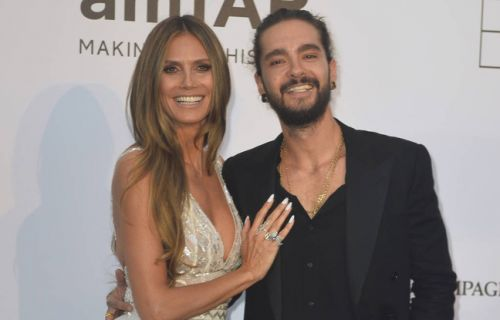 La top Heidi Klum et le guitariste de Tokio Hotel Tom Kaulitz officialisent leur relation