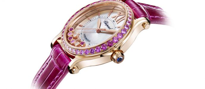Le « Happy Sport Oval » de Chopard revient avec son bracelet original