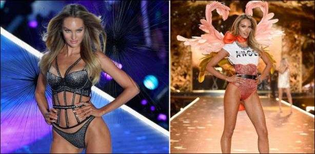 Behati Prinsloo de retour sur le podium Victoria's Secret sous les applaudissements d'Adam Levine
