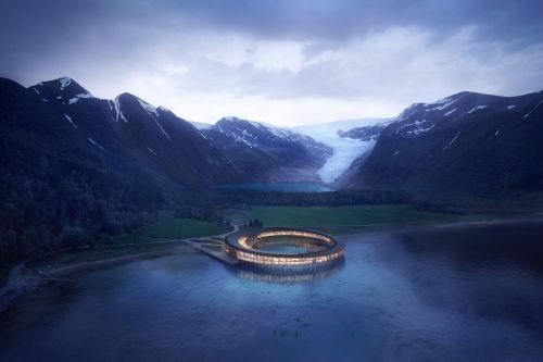 Stunning Arctic Energy Positive Hotel