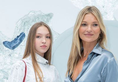Fashion Week:  Kate Moss et sa fille Lila Grace, stars du défilé Dior Homme