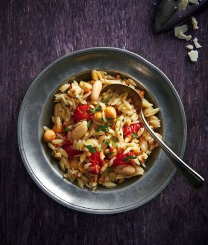 One-pot-pasta: Orzo crapiata
