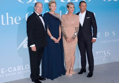 Le prince Albert et Charlène:  soirée avec Katy Perry et Orlando Bloom au Gala for the Global Ocean