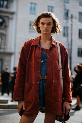 See what the models are wearing off-duty during Milan Fashion Week! Pt.2