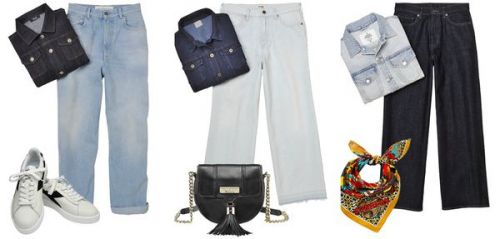 "Comment rester ""in"" avec un total look jean"