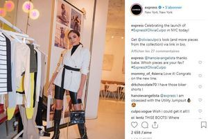 Olivia Culpo signe une collection abordable pour Express