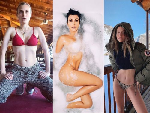 Diane Kruger, Kourtney Kardashian, Carla Ginola. le best of Instagram de la semaine