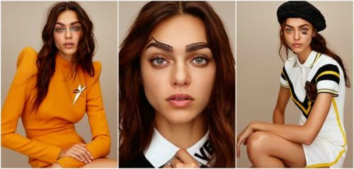 L'art du make-up:  6 idées originales avec le top Zhenya Katava