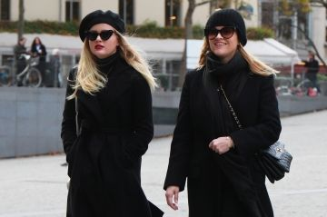 Reese Witherspoon et Ava Phillippe à Paris:  telle mère, telle fille