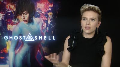 Scarlett Johansson:  'Le Major de Ghost in the Shell n'a pas besoin d'être sexy'