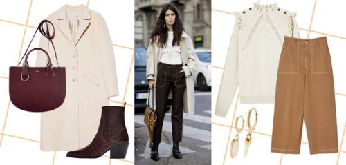 Isabel Marant, APC, Eric Bompard. on adopte le look de Chiara Totire