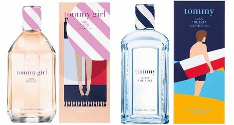 Tommy Hilfiger Tommy Into The Surf & Tommy Girl Sun Kissed ~ new fragrances