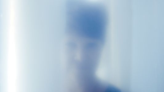 Blurred Faces inside Immersive Installation