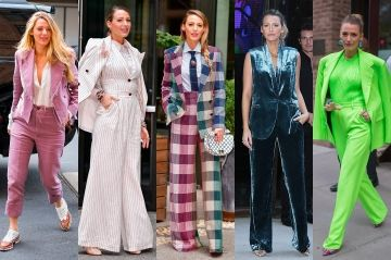 Blake Lively:  six costumes, six styles
