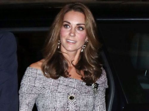 PHOTOS. Kate Middleton resplendissante en robe en tweed pour une sortie en solo à Londres