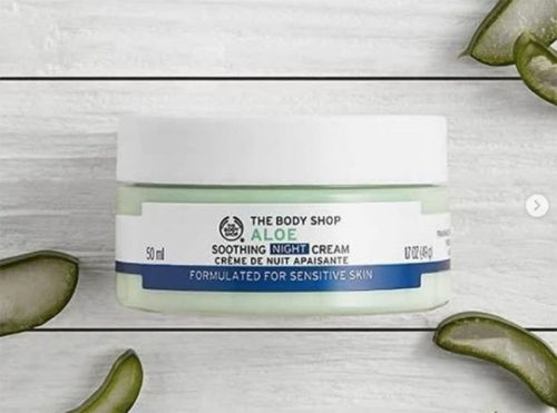 Beauty it:  La crème de nuit apaisante Aloès signée The Body Shop
