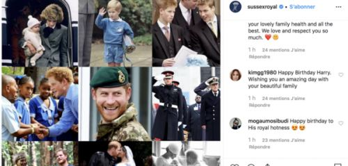 Anniversaire du prince Harry:  le tendre message de Meghan Markle