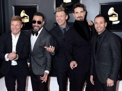 PHOTO. Séquence Nostalgie ! Les Backstreet Boys font leur grand retour aux Grammy Awards 2019