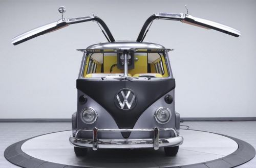 The Famous VW Bus Takes Us Back To The Future