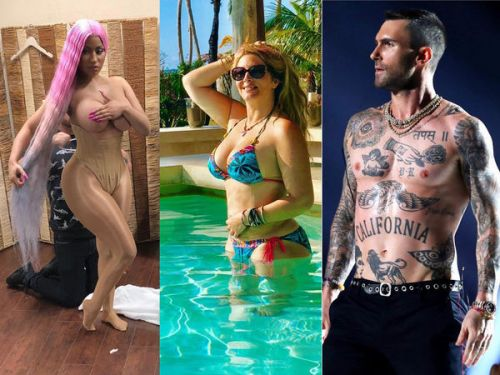 Nicki Minaj, Loana, Adam Levine. Le best of Instagram de la semaine