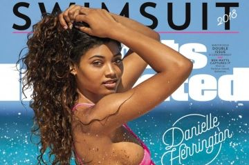 "Qui est Danielle Herrington, la covergirl de ""Sports Illustrated"" ?"
