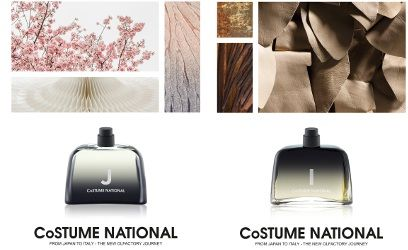 Costume National J & I ~ new fragrances