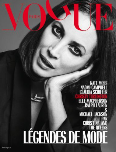 Vogue Paris Calls on the Legends for September