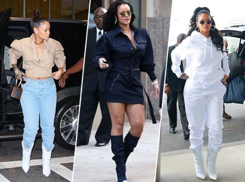 Rihanna:  Nouveau marathon fashion à New York !